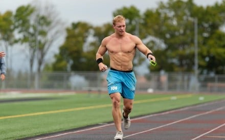 Samuel Kwant, fourth in the first leg of the CrossFit Games, is focused on a podium finish in the final. Photo: Samuel Kwant Facebook
