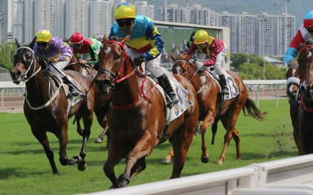 Good View Clarico wins under Ben So in May. Photos: Kenneth Chan