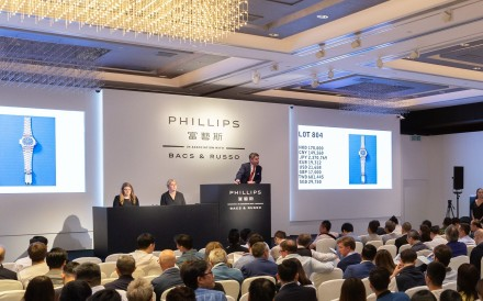 Phillips has joined hands with Poly Auction for the upcoming art sale in Hong Kong, in December. Photo: Handout