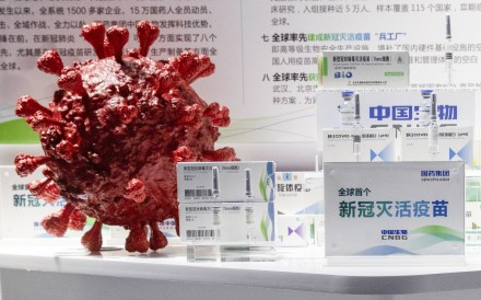 Under an emergency use scheme, China National Biotec Group has injected 350,000 people in China with its Covid-19 vaccines, which are still in trials. Photo: AP