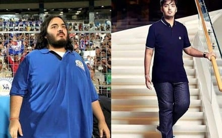 Anant Ambani lost 108kgs over 18 months. Photo: @anantambanifc/Instagram