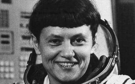 Soviet astronaut and researcher Svetlana Savitskaya was the first woman to walk in space in 1984. Photo: Bettman Archive