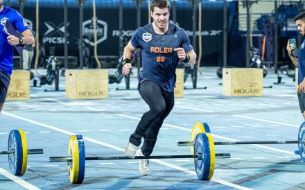 Jeffrey Adler has a realistic shot at a podium finish. Photo: Dubai CrossFit Championship