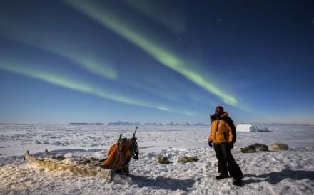 Handout image shows Hong Kong explorer Wilson Cheung Wai-yin, in Ittoqqortoormiit, Greenland, 2017.[29SEPTEMBER2020 FEATURES]CREDIT:  Wilson Cheung Wai-yin