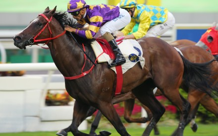 Lucky Express wins at Sha Tin earlier this season. Photos: Kenneth Chan