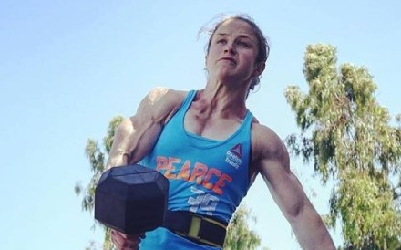Kari Pearce is one of five women in the CrossFit Games final. Photo: Facebook