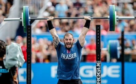 Mat Fraser can end the GOAT debate at the 2020 CrossFit Games. Photo: CrossFit Games