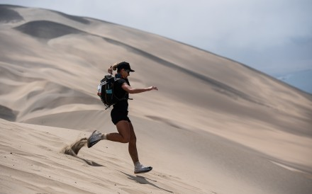 You social media followers want to see you in the scariest regions on earth, and that is one of the central pillars of being a runner. Photo: AFP
