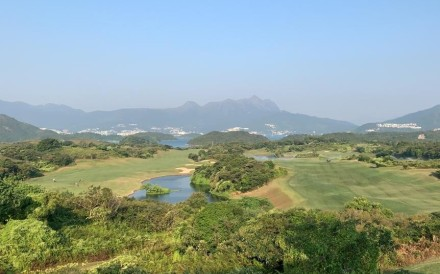 The North Course, one of three at Kau Sai Chau, Hong Kong's only public golf course. Photo: SCMP