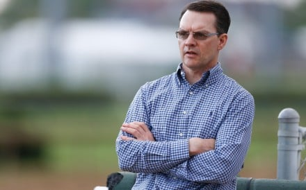 Trainer Aidan O'Brien. Photo: AFP