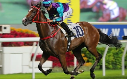 Winning Dreamer dashes clear to win under Vincent Ho at Sha Tin. Photos: Kenneth Chan