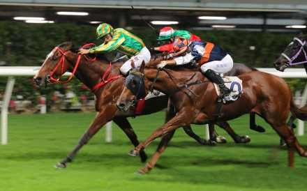 Virtus Star salutes at Happy Valley last month. Photos: Kenneth Chan