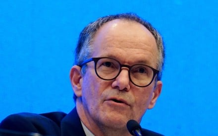 WHO food scientist Peter Ben Embarek shared the findings of the mission in Wuhan on Tuesday. Photo: Reuters