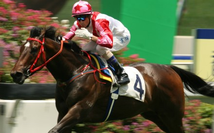 Douglas Whyte wins aboard Congratulation at Sha Tin in 2007. Photos: Kenneth Chan