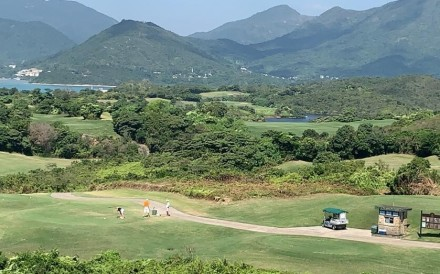 The Jockey Club Kau Sai Chau Public Golf Course in Sai Kung has been overwhelmed with people wanting to play. A new online booking service will be launched on February 18. Photo: SCMP