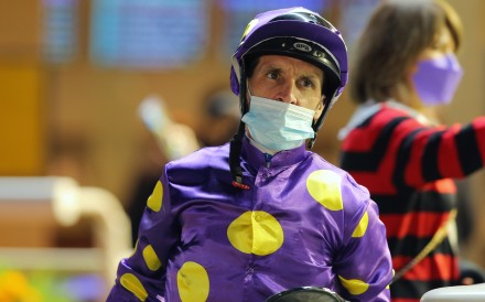 Jockey Neil Callan. Photos: Kenneth Chan