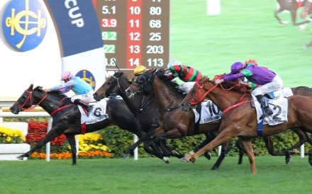 Healthy Happy takes out the Classic Cup last month. Photos: Kenneth Chan