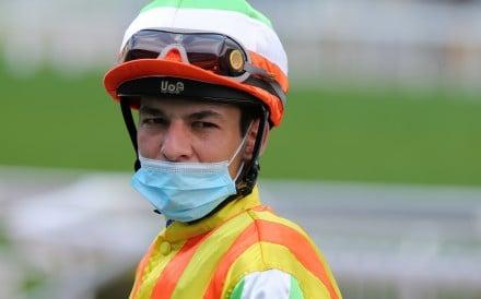 Jockey Vagner Borges. Photo: Kenneth Chan