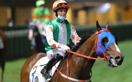Vagner Borges after a winner at Happy Valley recently. Photos: Kenneth Chan