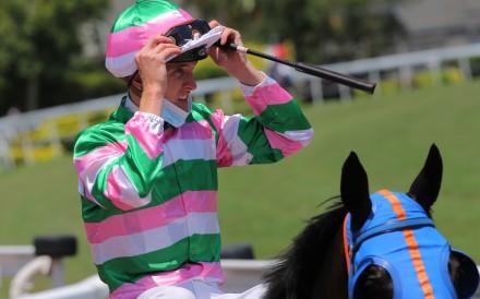 Jockey Chad Schofield. Photo: Kenneth Chan