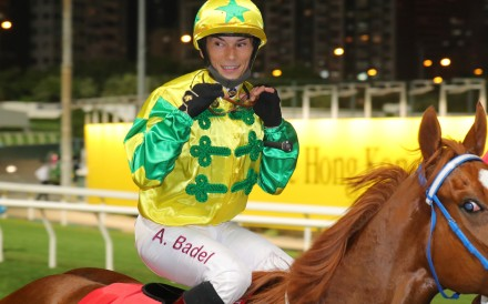 Alexis Badel is all smiles after a winner. Photos: Kenneth Chan