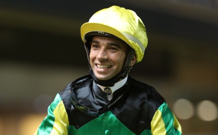 A beaming Joao Moreira after a winner this season. Photos: Kenneth Chan