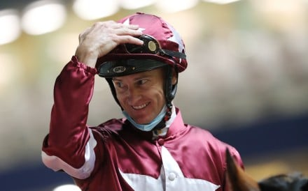 Zac Purton after one of his 11 winners in September. Photos: Kenneth Chan