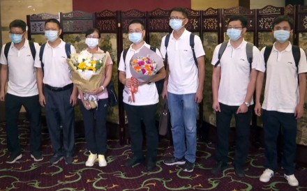 Seven medical experts from the Chinese mainland arrived in Hong Kong on August 2, 2020, to help the city fight its worst wave of coronavirus infections so far. The group selected by the Guangdong...