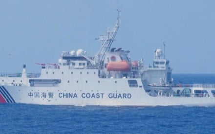 Japanese officials speaking in an October 13, 2020, press conference urged China to order its ships out of disputed waters in the East China Sea. Tokyo has filed a diplomatic protest after the two...