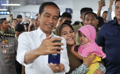 Indonesian President Joko Widodo is seeking re-election. Photo: Agence France-Presse