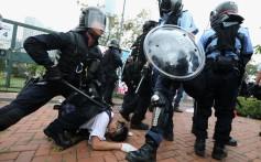 There were violent clashes on June 12 outside the legislature. Photo: Felix Wong