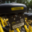 A QR code on a rental bike in Shenzhen. (Picture: South China Morning Post)