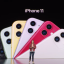 The iPhone 11 comes in six colors. (Picture: Screenshot from Apple's September 2019 keynote)