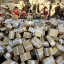 Workers prepare packages for delivery during Singles' Day in 2016. (Picture: AFP)