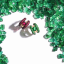 Among the 'big three', rubies and emeralds are surpassing colourless diamonds in record per-carat price. There is talk now that it won't be long before sapphires overtake diamonds too.