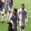 Bahrain's Sayed Baqer appears to aim a racist gesture at Hong Kong supporters after a fractious ending the their World Cup qualifying match. Photo: Twitter/@pjrydo