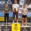 Sara Sigmundsdottir wins the CrossFit Sanctionals Filthy 150, with Kristin Holte in second and Emma McQuaid third. Photo: Instagram/Filthy 150