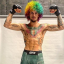 UFC bantamweight contender Sean O'Malley poses ahead of his UFC 250 fight against Eddie Wineland at the Apex Centre in Las Vegas on Saturday. Photo: Instagram / Sean O'Malley