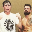 Middleweight contender Darren Till posts a photo with friend-turned-enemy Mike Perry. Photo: Instagram/Darren Till
