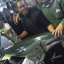 Indonesian crew with an illegally killed dolphin aboard a Taiwanese vessel. Photo: Handout/Environmental Justice Foundation