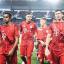Sarpreet Singh walks off the pitch with Bayern Munich teammates after a 6-1 win over Werder Bremen in 2019. Photo: Instagram/Sarpreet Singh
