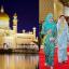 The Sultan of Brunei's 50th Birthday, in 1996; Istana Nurul Iman Palace and the Sultan of Brunei. Photo: @sasho.pixx84/Instagram' @HassanalBolkiah, Sultan of Brunei/ Facebook