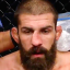 UFC veteran Court McGee's nose is out of shape during his fight against Carlos Condit at UFC Fight Night in Dubai. Photo: Twitter/Court McGee