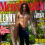 US singer Lenny Kravitz, 56, recently showed off his chiselled physique on the cover of Men's Health magazine.