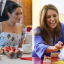 From left: Meghan Markle, Duchess of Sussex and Kate Middleton, Duchess of Cambridge. Photo: Agence France-Presse, EPA-EFE