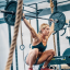 Brooke Wells is hunting for a podium finish in the CrossFit Games 2020 final. Photo: Buttery Bros/Facebook