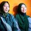 Treni and Trena, two long-lost twin Indonesian sisters reunited thanks to TikTok. Photo: Treni Fitriyana/YouTube