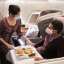 Singapore Airlines on-the-ground dining amid the pandemic. Photo: Singapore Airlines