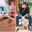 Jin's sugar glider Gookmool, RM's spitz Rap Mon, and V's Pomeranian Yeontan. Photos: @BTS_twt; @RMPICS_twt; @FromCareKorea/Twitter