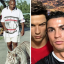 Mike Tyson, Cristiano Ronaldo and Roger Federer with some of their most surprising purchases. Photos: @blundtvintage; @rogerfederer; @cristiano/Instagram